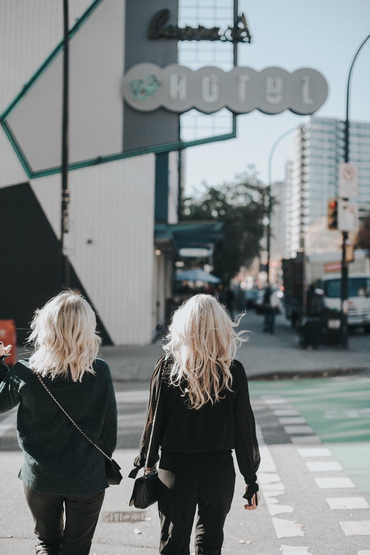 girls getaway at the burrard hotel