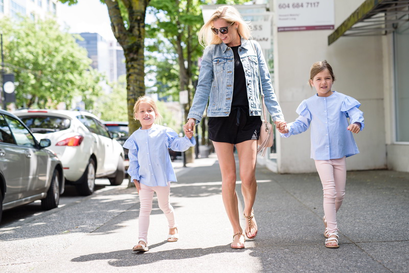 Day date with my girls on Robson St.
