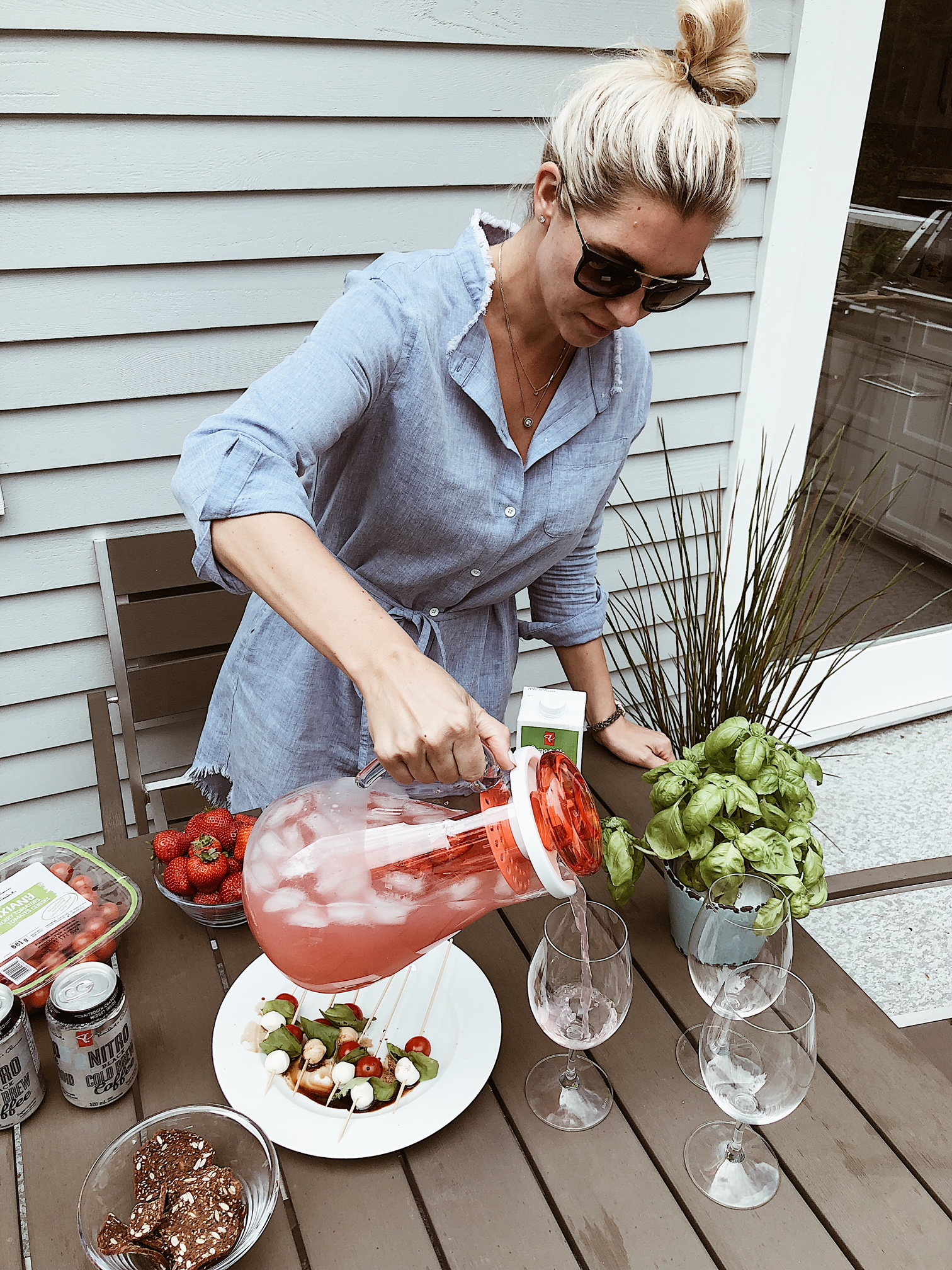 How to plan the perfect al fresco dinner