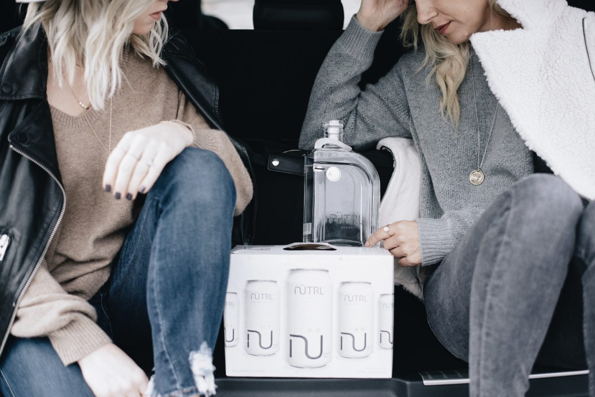 on the road with NUTRL real life styled