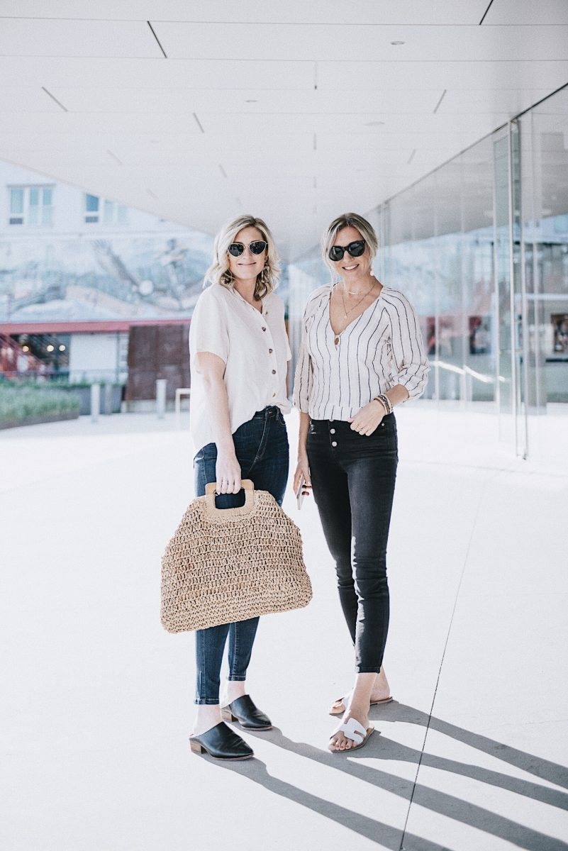 how to style spring denim